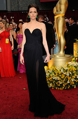 Angelina Jolie at the 81st Oscar's