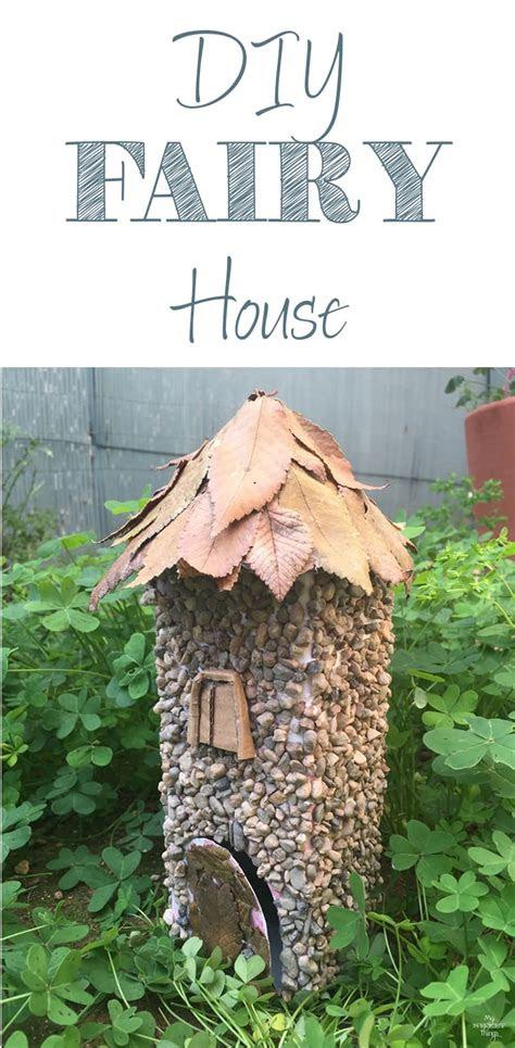 diy  fairy home  sweet