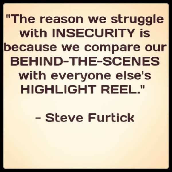 Beautiful Insecurity Quotations Parryzcom