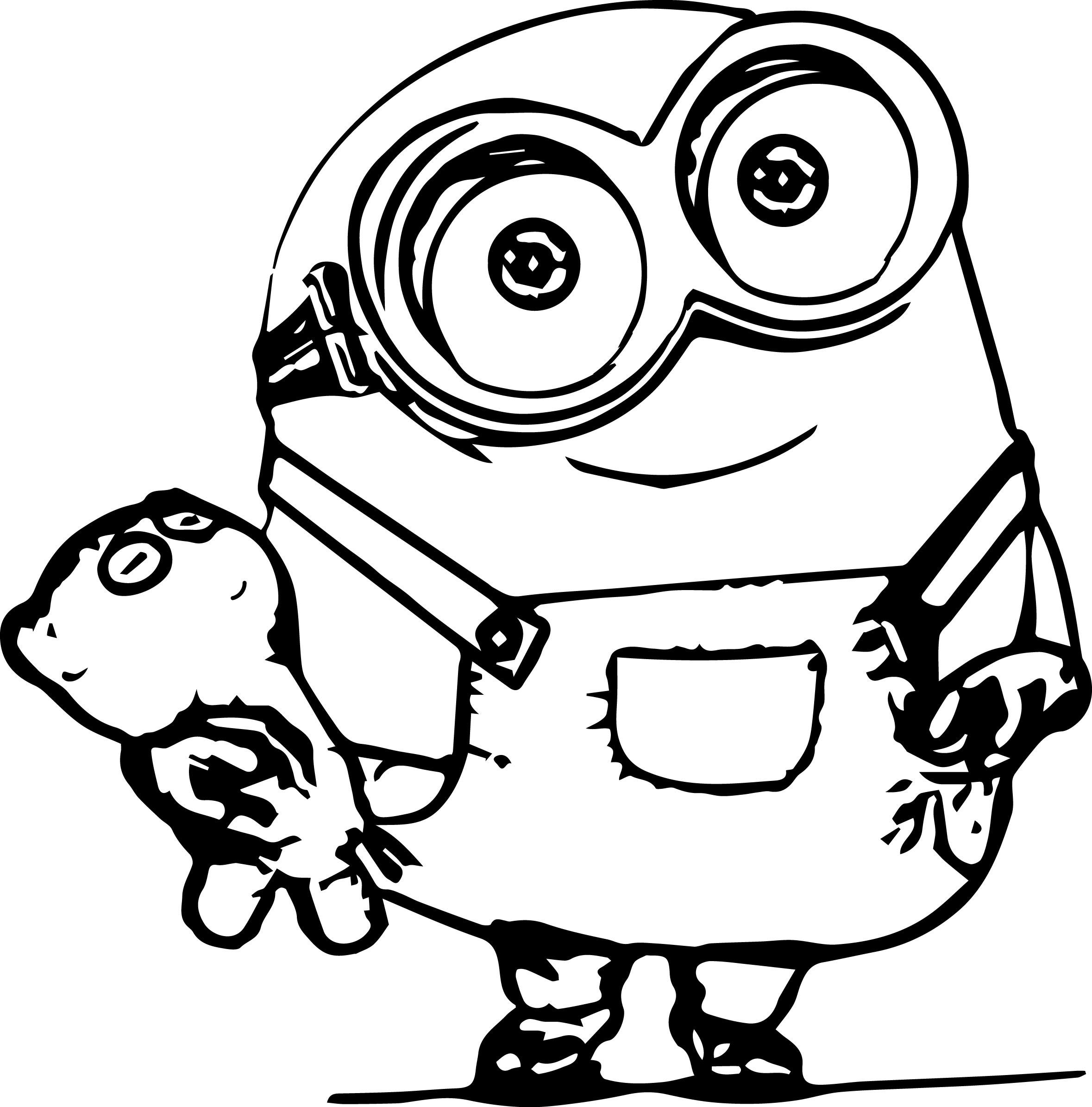 Minion Coloring Pages | Fotolip.com Rich image and wallpaper
