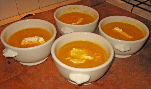 Vellutata speziata di carote con robiola by fugzu