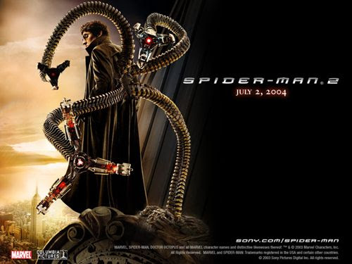 Doctor Octopus looks cool!
