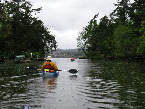 Colquitz Creek into Portage Inlet