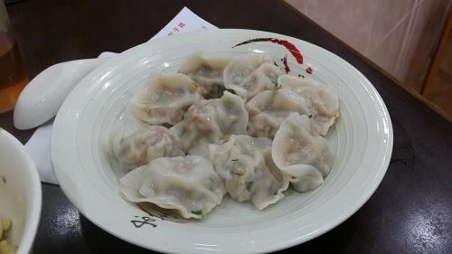 白菜馬蹄鮮肉水餃