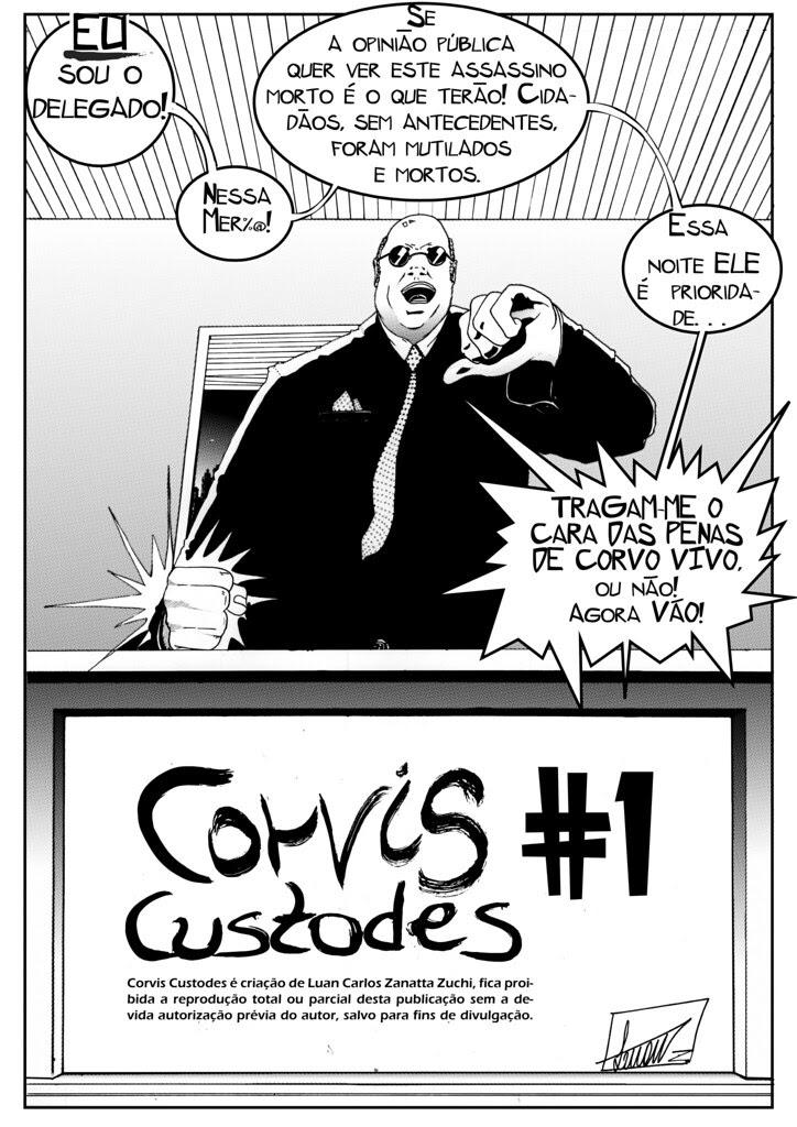 Corvis Custodes #1