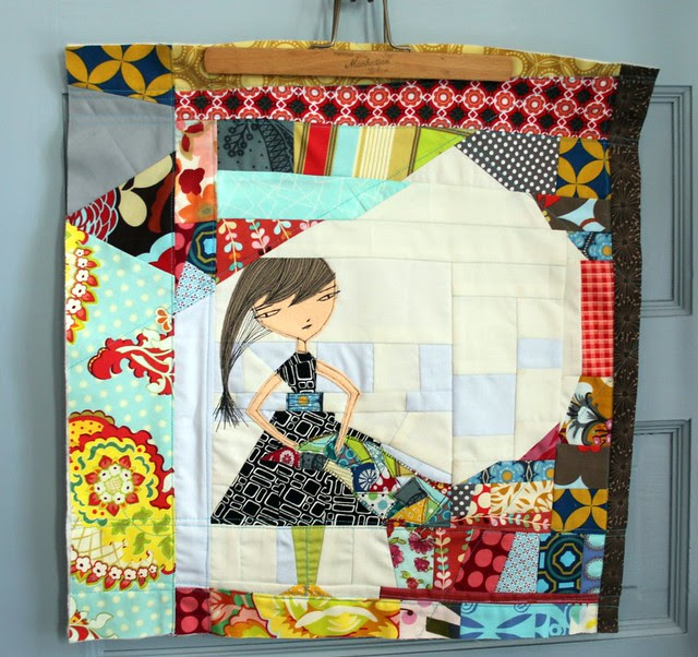 improv quilter scraps block -- new photo