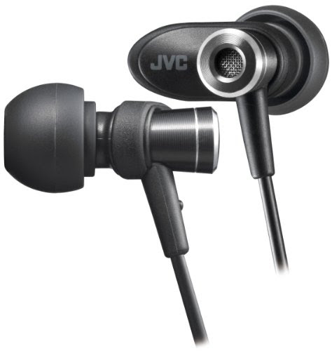 JVC HA-FXC51-B カナル型イヤホン ブラック