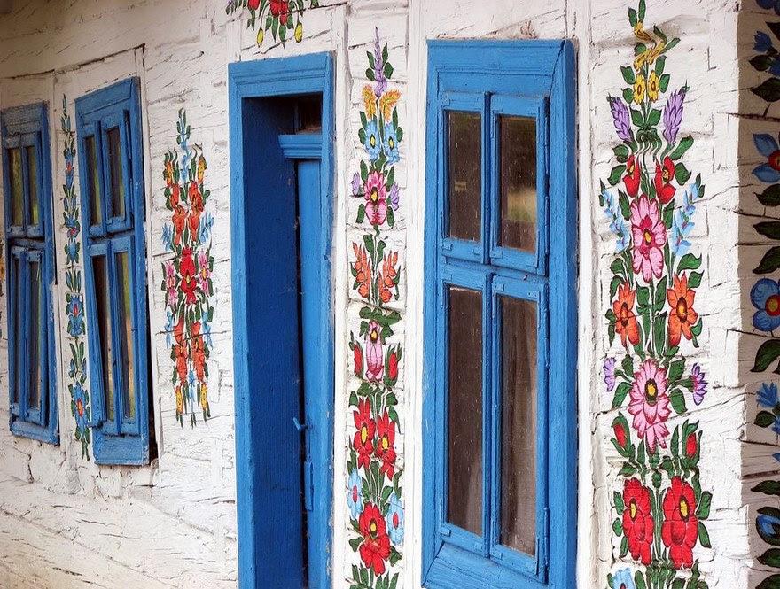 Zalipie flores pintadas 16