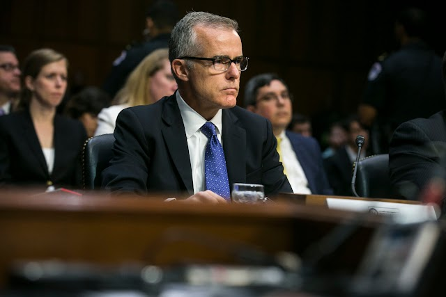 Taunted by Trump and Pressured From Above, McCabe Steps Down as F.B.I. Deputy