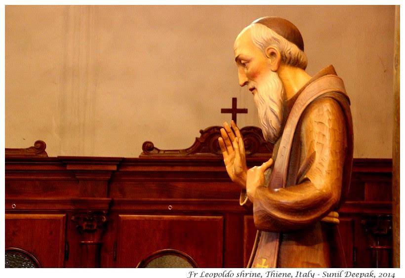 Fr Leopoldo of Padua, Thiene, Italy - Images by Sunil Deepak