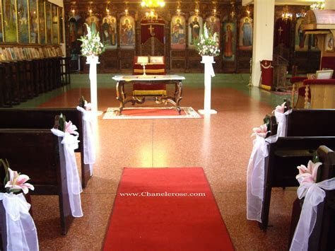 Wedding Decorations For Church Pews   Romantic Decoration