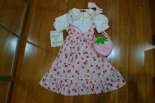 Loli Sale - Sample Set - Pink Gingham Strawberry Set