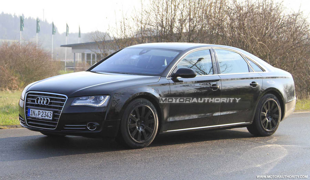 Report: 2012 Audi S8 To Get 520 HP From Twin-Turbo V-8