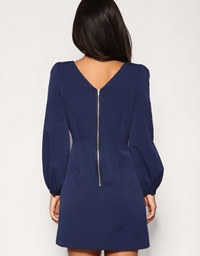 Image 2 of ASOS PETITE Bell Sleeve Shift Dress