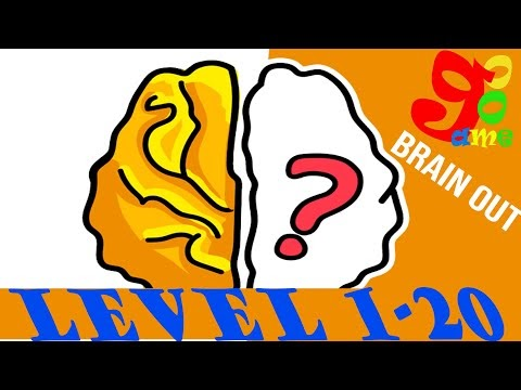 Kunci Jawaban game brain out level 1-20 | Brain Out All Level 1-20  Walkthrough Solution
