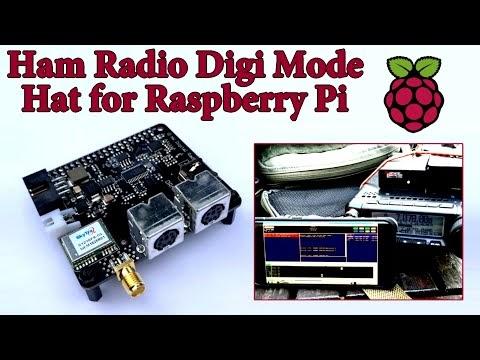 HAM, PESQUISAS E DOCUMENTOS: Ham Radio Digi Mode Hat for Raspberry Pi