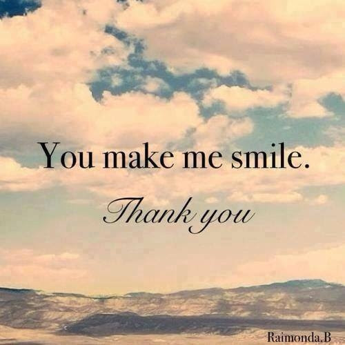 You Make Me Smile Thank You Pictures Photos And Images For