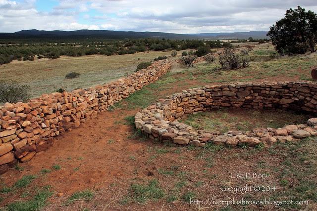 Pecos NHP Wall & Kiva