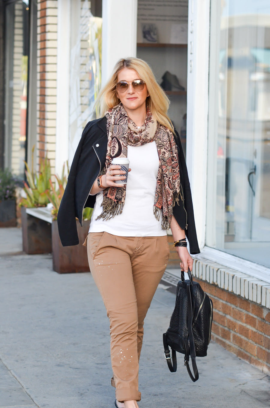 khaki pants outfit ideas for women  luci's morsels