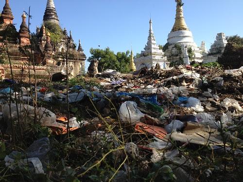 Mess at a Pagoda