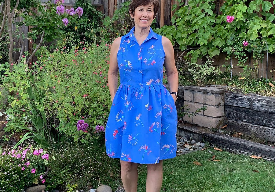Patrones magazine review and a shirtdress from the July 2020 issue