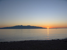 L'illa de Corfu des de Saranda.