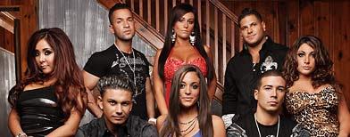 'Jersey Shore' cast.  (John Kessler/MTV)