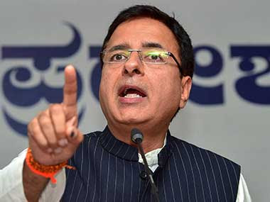 File image of Congress spokesperson Randeep Surjewala. PTI