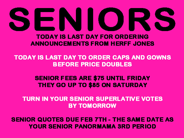 Quotes About Seniors In High School 52 Quotes