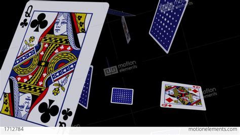 Playing Cards   Falling Loop II Stock Animation   1712784
