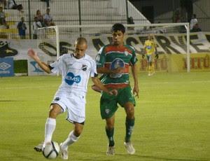 Thiaguinho, lateral-direito do ABC (Foto: Rafael Morais/Divulgação)
