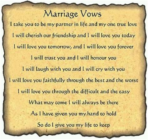 LOVE THESE VOWS!   October 5, 2013   Pinterest   The o