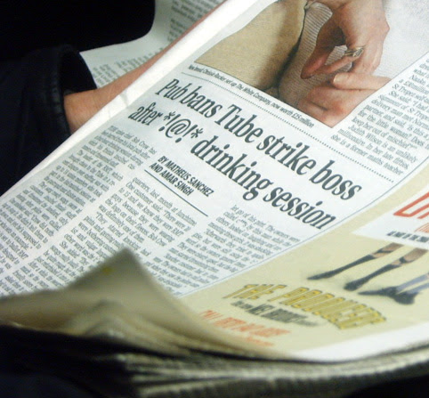 Pub Bans Tube Strike Boss - Evening Standard