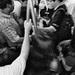 A esa hora el metro es un caos...