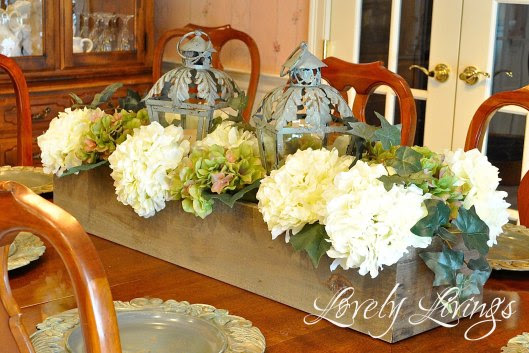 Like it, lump it, link party, DIY, center piece