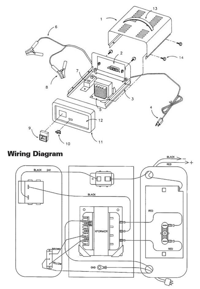 Schumacher Battery Charger Wiring