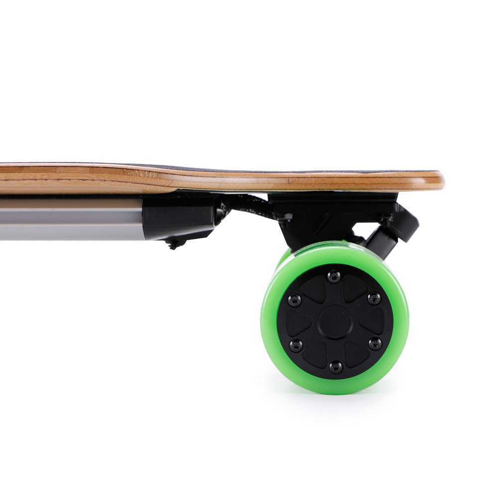 Led Light All Wheel Drive Electric Skateboard Fast Speed With 237.6Wh Battery of