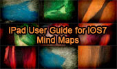 iPad User Guide for iOS7 Software, Mind Maps, Table of Content.