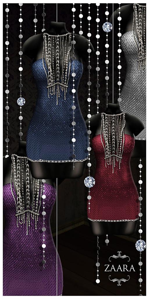 {Zaara} Acira minidress colors ad1