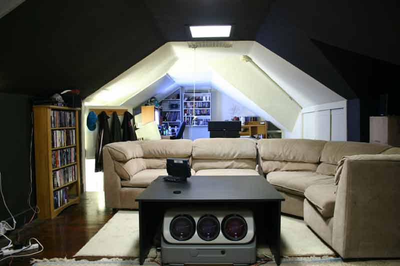 Home Theater Room (old) | Moe's Home Theater