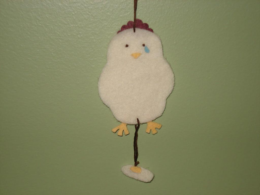 sorrowful chicken