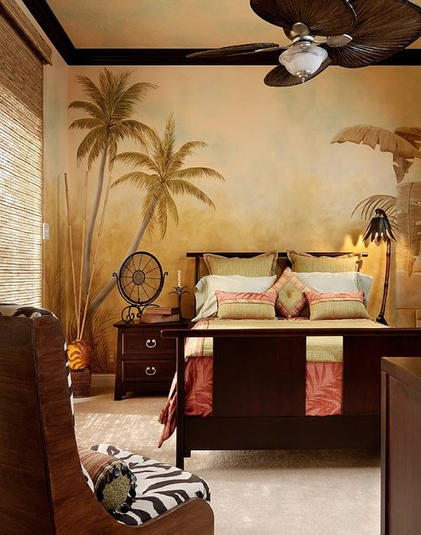 Decorating  with a Modern Safari  Theme