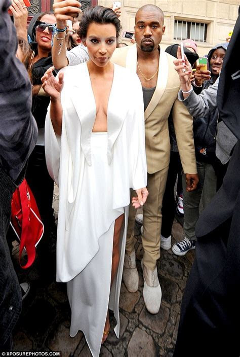 Kim Kardashian's second sexy wedding dress makes Kanye