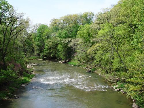 Big Pine Creek Rapids