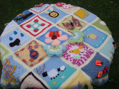 Table top view of Spring Blanket (1)