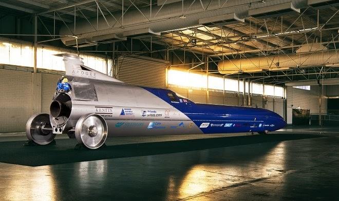 Знаменитый австралийский гонщик собирается разогнаться до 1600 км/ч