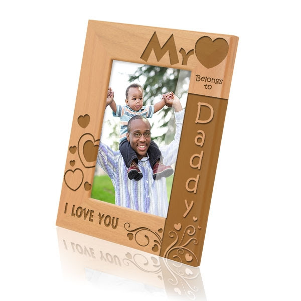 My Heart Belongs To Daddy Picture Frame