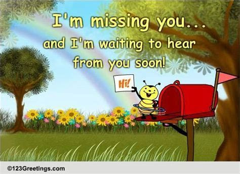Hey! Long Time No Hear! Free Miss You eCards, Greeting