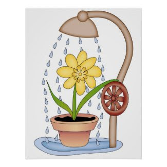 Watering Time! Poster