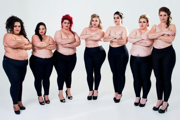 A idealizadora do projeto afirma que as outras mulheres sentiram-se 'lindas' (Foto: Daniel Fritcher, divulgação/Fotocompany)